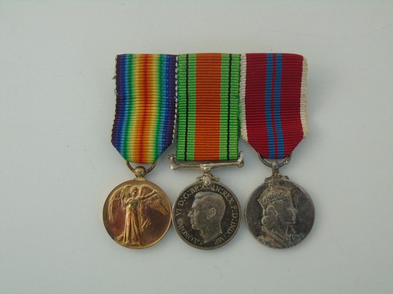 WW1-2 Miniature Trio