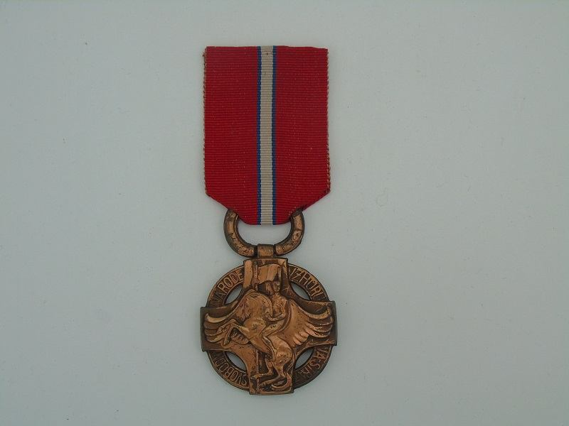 WW1 Czech Revolution Medal