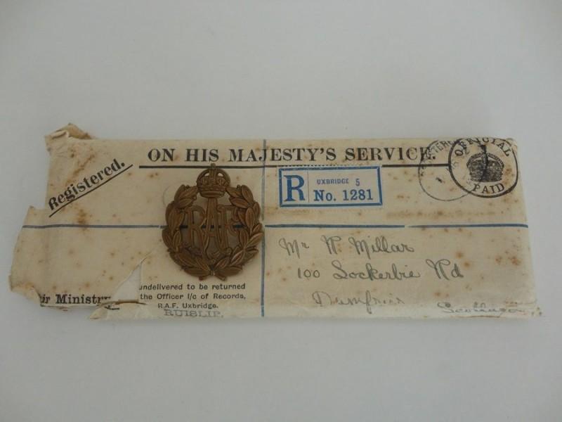 WW1 RAF Medal Pair