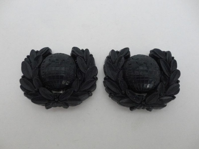WW2 Royal Marine Collars